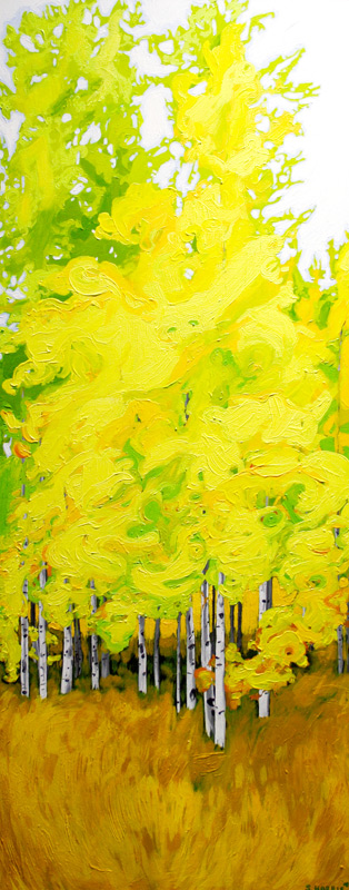 "Image of painting: ""Neon Tree"""